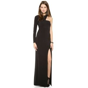 Cut 25 Keep Him Guessing Gown 6 Slit One Shoulder